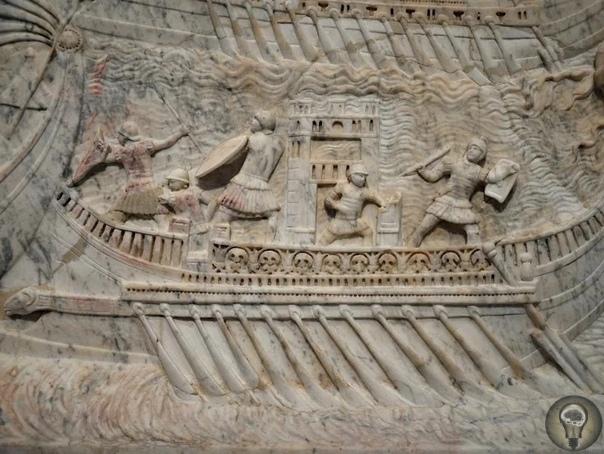 Археологи оценили размеры кораблей из флота Антония и Клеопатры