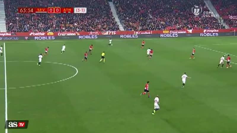Испания Кубок Короля Севилтя - Атлетик 0:1 обзор 16.01.2019 HD