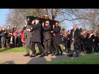 Церемония прощания с Китом Флинтом