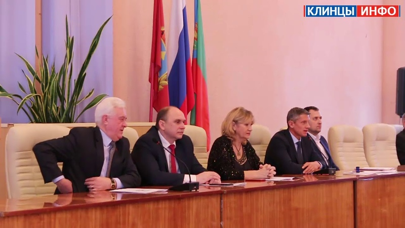 Глава города Клинцы Олег Шкуратов подвел итоги 2018 года