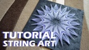 PASTEL PICTURE string art timelapse TUTORIAL