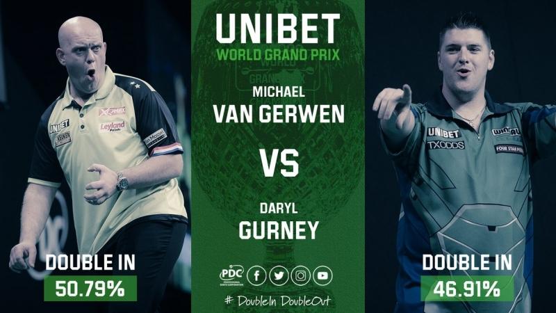 2018 World Grand Prix Semi Final van Gerwen vs Gurney