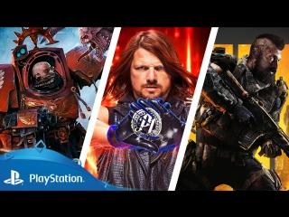 Новости этой недели на PlayStation | 08 октября