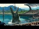 Cho Khủng Long Bơi Khổng Lồ Ăn Cá Mập | Trong phim quái vật