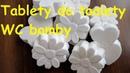 WC bomby - čistící tablety do toalety, voňavé a eko