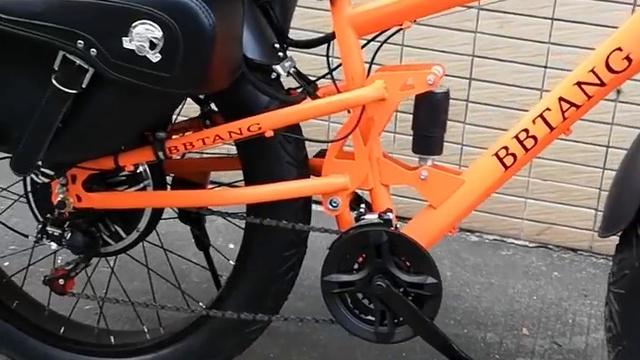 Посмотрите это видео на Rutube: «Велосипед Электробайк, HRTC FAT 9, 10 Дюймов колесо, 31-60 км в час, 2019»