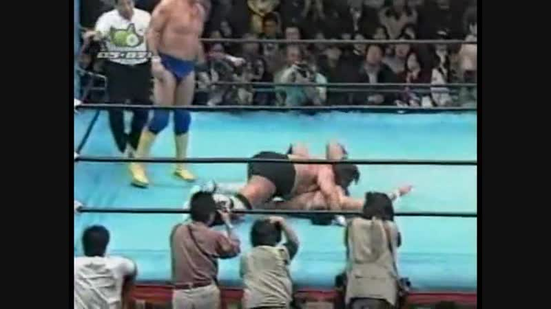 1996.11.16 - Jun AkiyamaMitsuharu Misawa vs. Steve WilliamsJohnny Ace