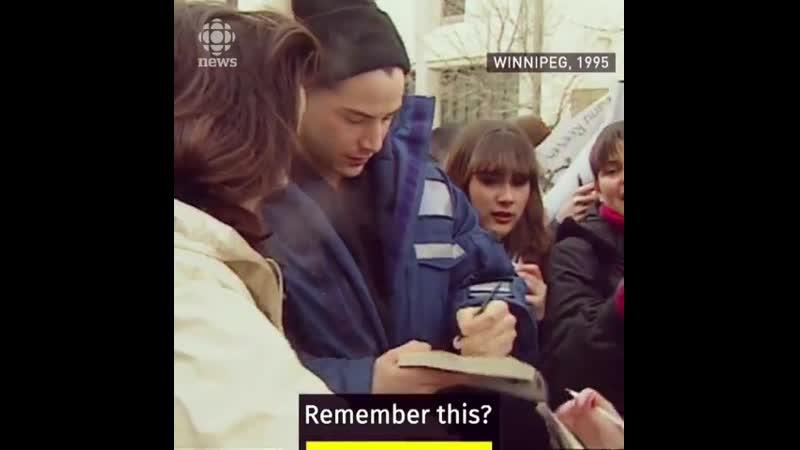 Киану Ривз в роли Гамлета 1995 год