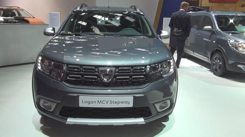 Dacia Logan MCV Stepway Celebration TCe 90 SS Easy-R 90 (2018) Exterior and Interior