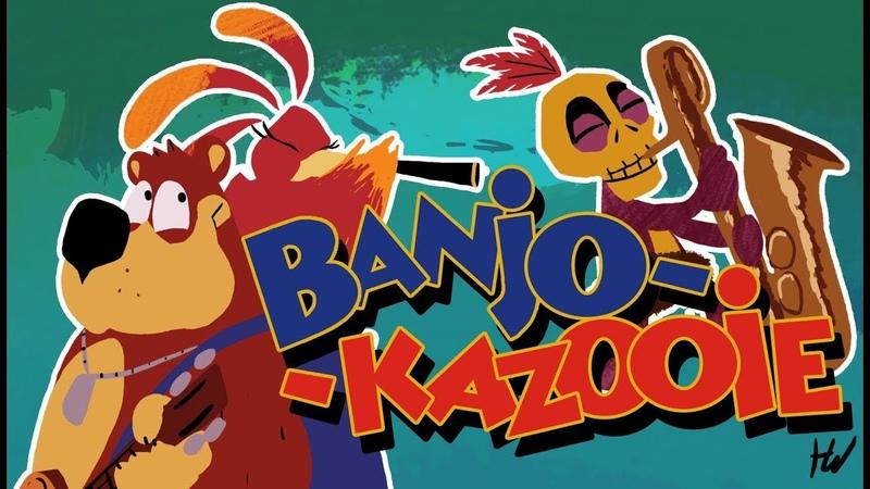 Banjo Kazooie Main Theme Animated Cover