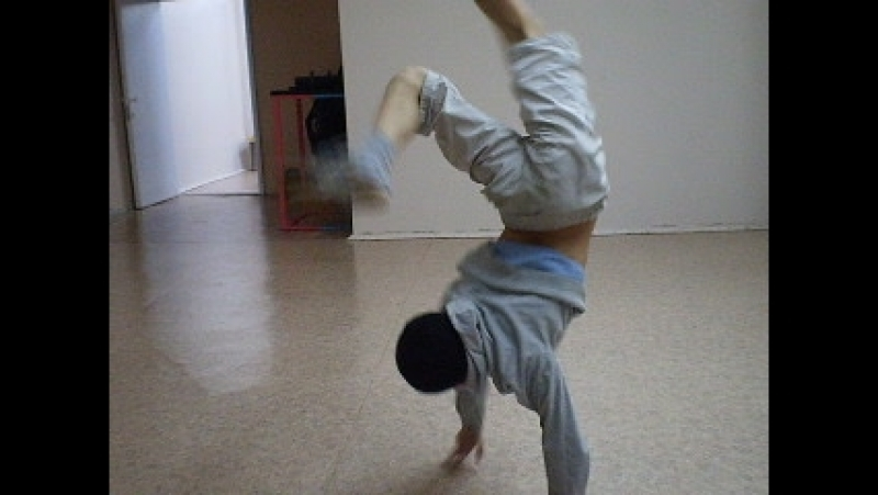 Архив т\о СТЭМ 2009.Тренировка по брейк дансу - Радмир.