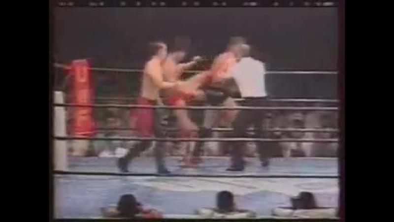 Бушидо 16 - Ямазаки и Тамура - Олбрайт и Сильвер (Япония против США)