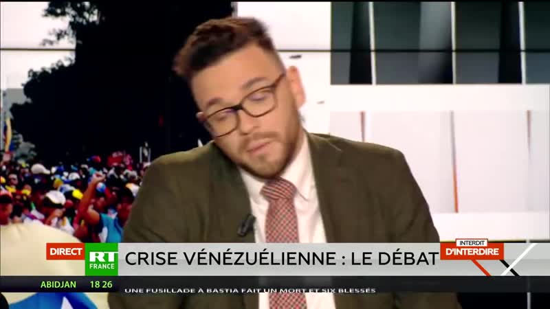 Interdit dinterdire La crise vénézuélienne