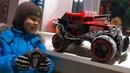 Большая машина Хот Вилс на управлении Игрушки для мальчиков