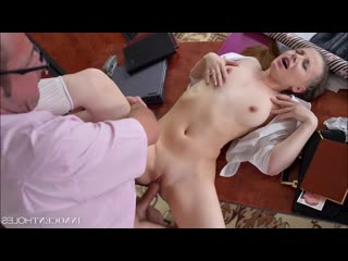 [innocent holes] olivia grace innocent college girl olivia fucked in the ass by teacher