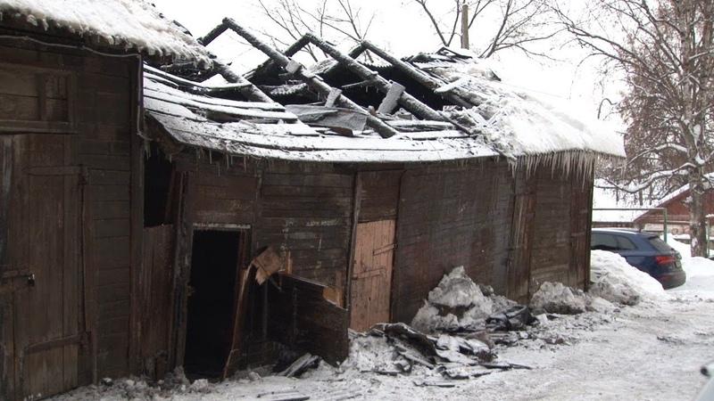 Кому помешали сараи в центре Рузаевки в рождественскую ночь?