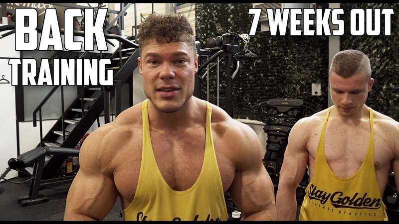 Thickness Workout for Back - 7 Weeks Out!
