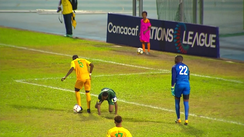CNL 2018: FRENCH GUIANA vs SAINT VINCENT GRENADINES Highlight