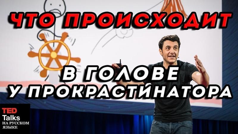 ЧТО ПРОИСХОДИТ В ГОЛОВЕ У ПРОКРАСТИНАТОРА Тим Урбан TED на русском