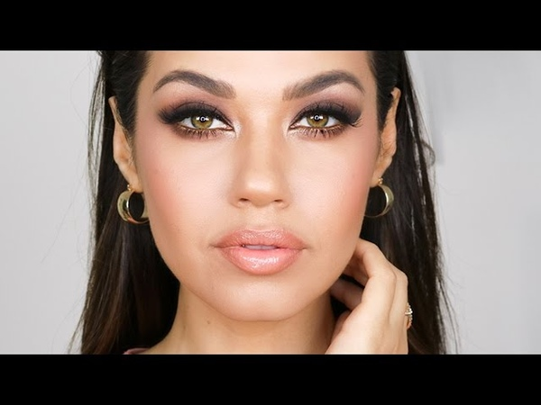 GRWM Easy Night Out Glam Makeup Tutorial Smashbox Cover Shot Matte Palette Eman