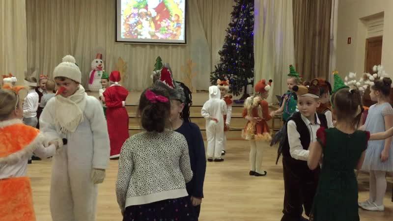 Новогодний спектакль Снеговик-почтовик