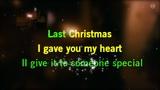 Karaoke Last Christmas - Wham! 4k!