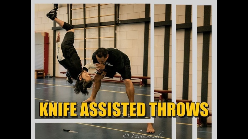 Knife Assisted Throws and Takedowns - Silat Suffian Bela Diri
