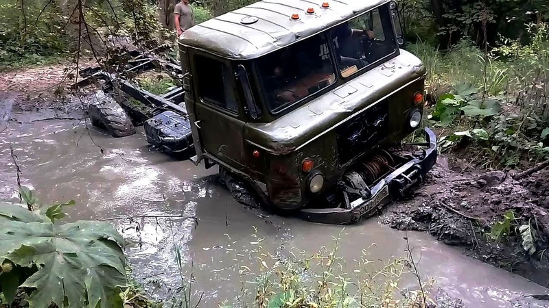 ГАЗ 66 против nissan patrol gr y 61 LADA NIVA 4x4 Попов хутор Беседка Кобань