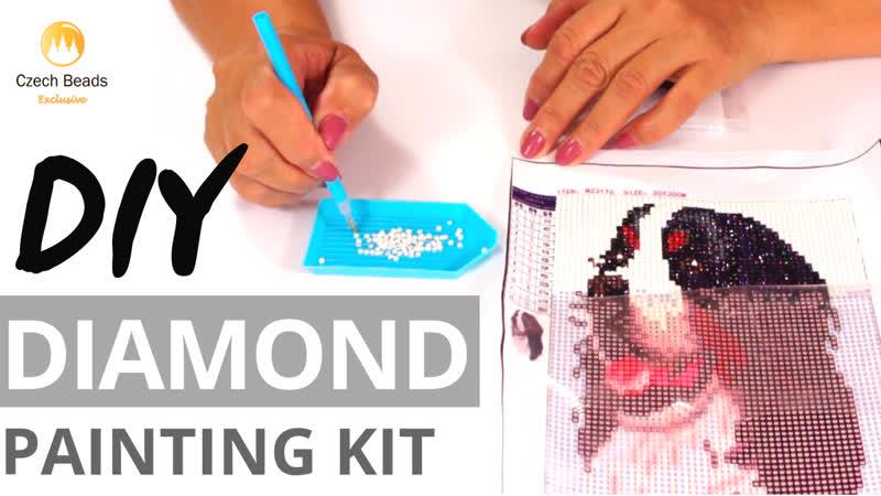 🎬 Видео Мастер Класс Алмазная Вышивка 5Д Как Сделать Картину из Страз