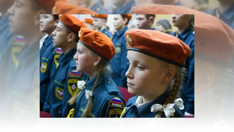 Посвящение в кадеты 5 в класс Ильинской СОШ (ноябрь 2018г)