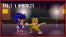 TAILS Y KNUCKLES reencuentro con (animación)