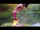 Лучший Стейк! The Ultimate Steak! - Stone-Fried in the Forest
