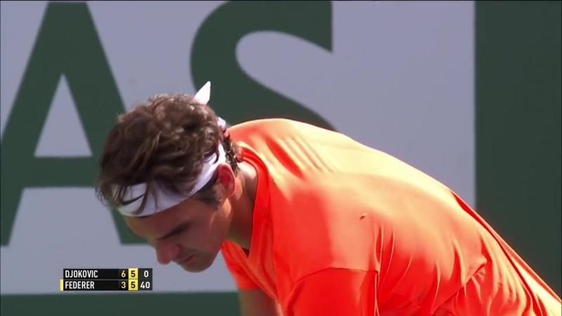 Djokovic Federer IW 2015