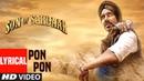 Son Of Sardaar Po Po Lyrical Video Salman Khan Ajay Devgn Sanjay Dutt