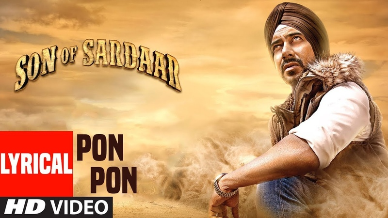 Son Of Sardaar Po Po Lyrical Video | Salman Khan, Ajay Devgn Sanjay Dutt