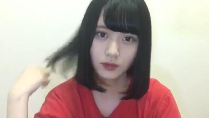 180910 NMB48 Team BII Draft KKS Yamamoto Mikana SHOWROOM cut 5