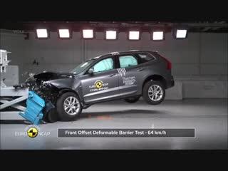 Краш-тест нового Volvo XC60 rhfi-ntcn yjdjuj volvo xc60
