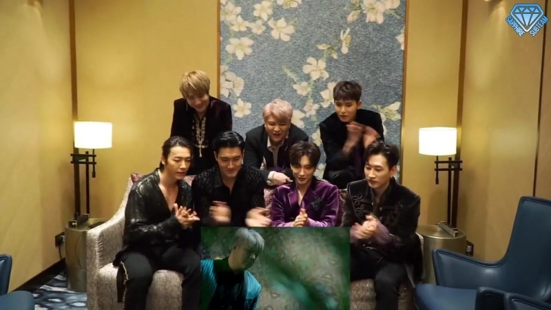 Sapphire SubTeam Реакция Super Junior ... Vez) (рус.саб).mp4