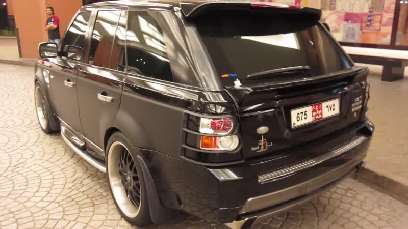 Hamann Range Rover HST Sport Supercharged matte shiny black
