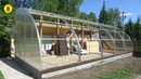 Солнечный вегетарий Подготовка и монтаж боковых стенок