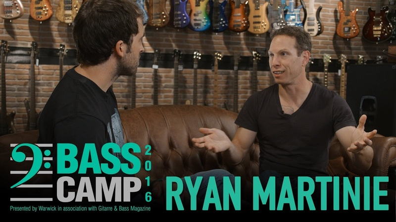 Bass Camp 2016 Interviews - RYAN MARTINIE (Mudvayne Soften The Glare)