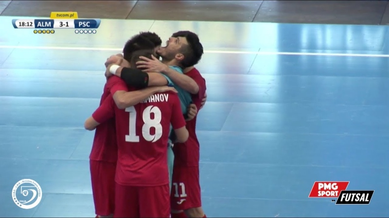 UEFA Futsal Champions League - Kairat Almaty vs Acqua Sapone Unigross - Highlights