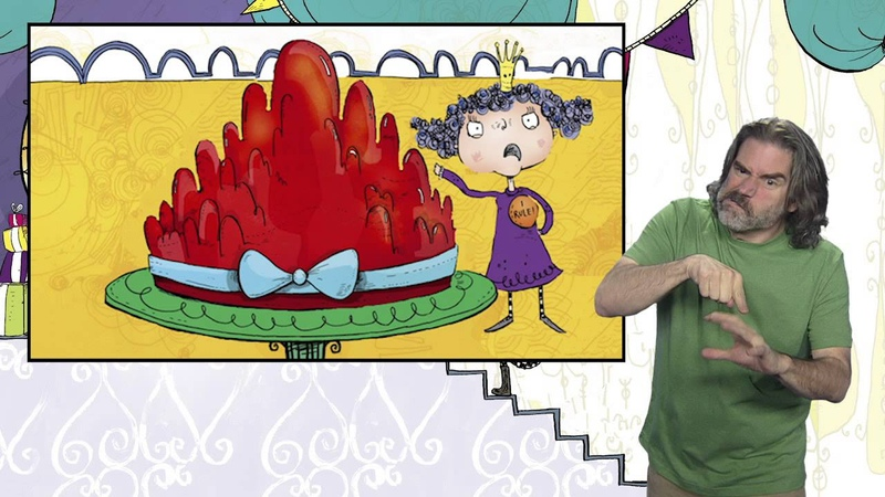 The Jelly That Wouldnt Wobble (American Sign Language) Signed Stories Book Bundle 1 for Schools
