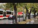 05.10.2018 Екатеринбург, улица 8 Марта, служебный вагон Т3 буксирует 71-405