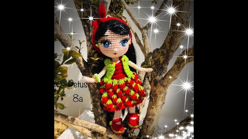 Material que necesitas para realizar muñeca Sheila, amigurumis by Petus