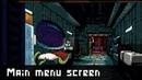 Main menu screen pixel art painting