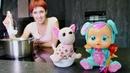 Чечевичный суп для куклы - Маша Капуки и рецепты для детей.