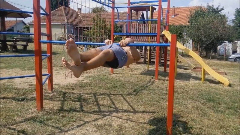 HARDEST FRONT LEVER PULL UPS In All Street Workout PART 2