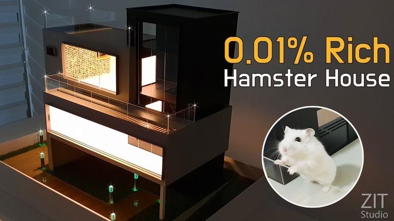 세상에서 단 하나뿐인 럭셔리 햄스터 하우스 제작 Making a hamster luxury house