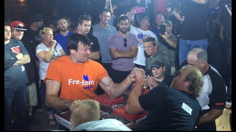 WAL Devon Larratt vs Matt Mask ARM WRESTLING